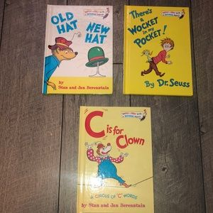 Lot of 3 Dr. Seuss bright and Early books new